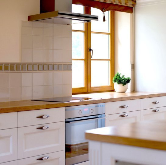 Wooden kitchen - English style