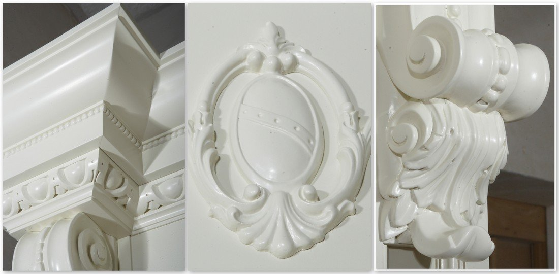 Carved wooden doors on request, carved fitted doors to size - alder sculptures