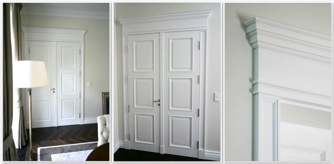 Traditional made interior doors, unique traditional timber alder doors, manufacturer of exclusive internal doors