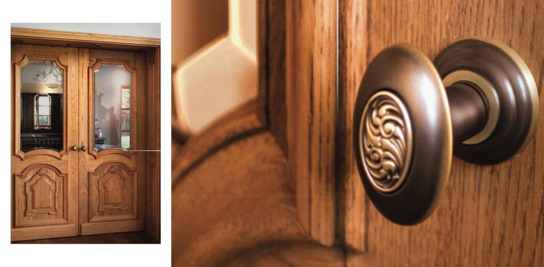 Oak internal timber doors on request from the producer – wooden doors manufacturer