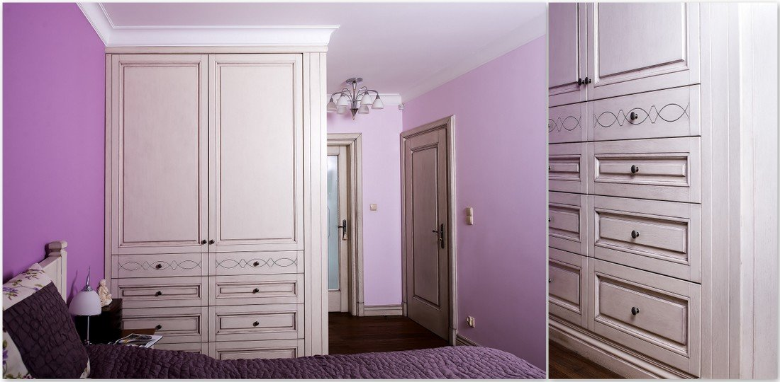 Bespoke interior wardrobe doors producer - oak, alder, pine, meranti, sapele windows, doors and furniture