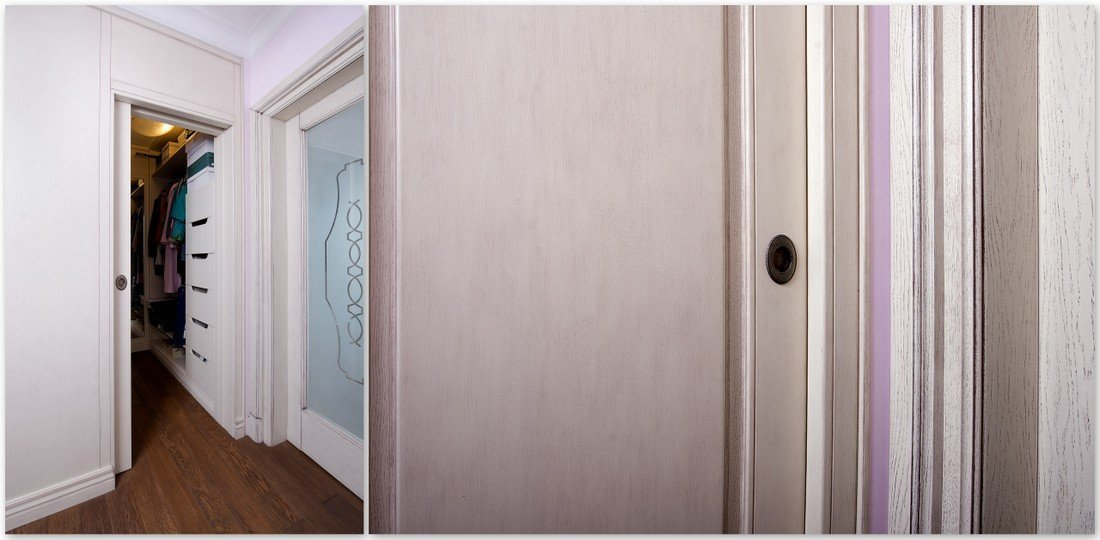 Custom timber interior doors - fully made to measure Provencal style internal doors
