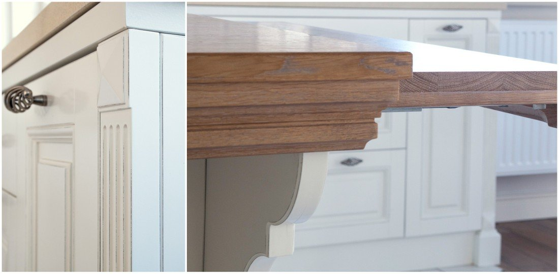 Fitted timber kitchens – bespoke kitchen furniture to order in a rustic style, built-in kitchens producer