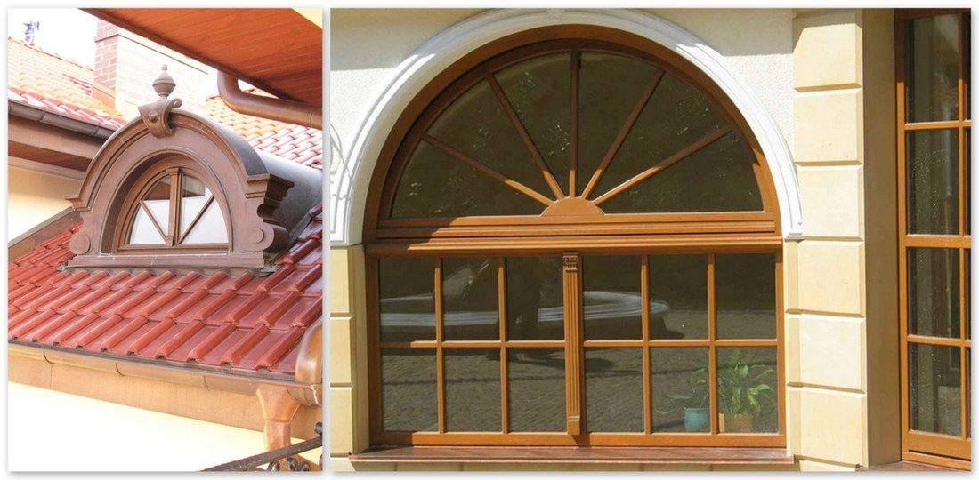 Meranti windows, oak windows, pine windows producer, solid and lasting wooden windows to size